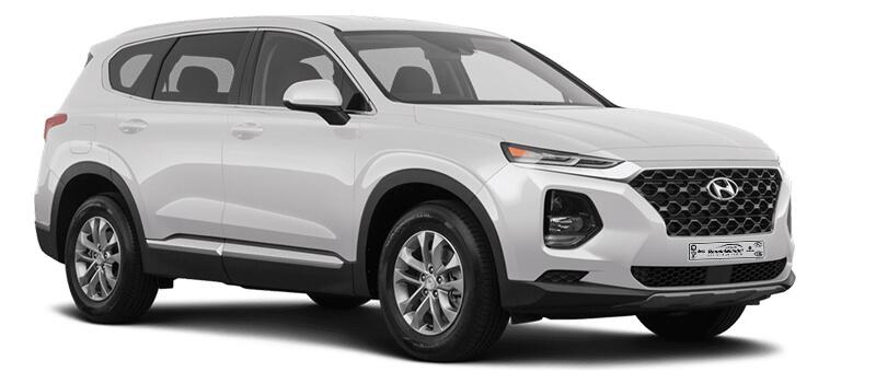 Hyundai Santa Fe Weiß