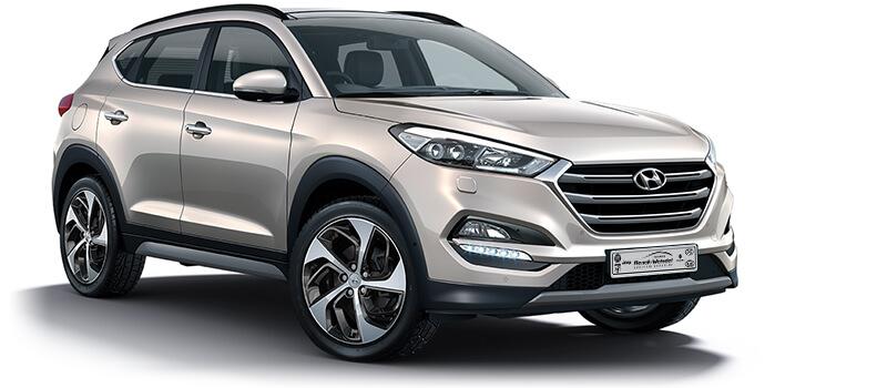 Hyundai Tucson Silber