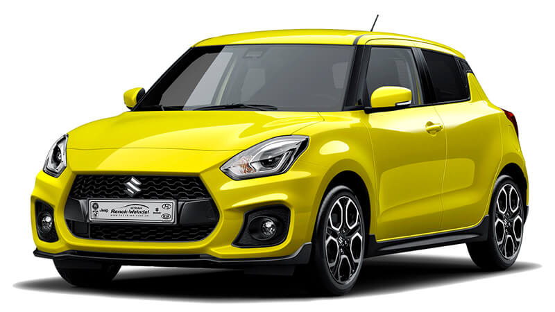 Suzuki Swift Sport Gelb