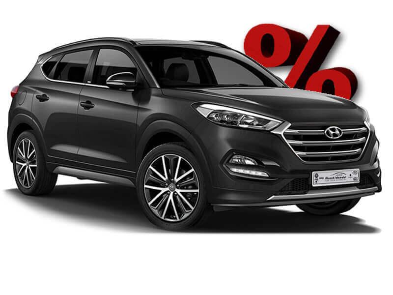 Hyundai Tucson Schwarz vergünstigt