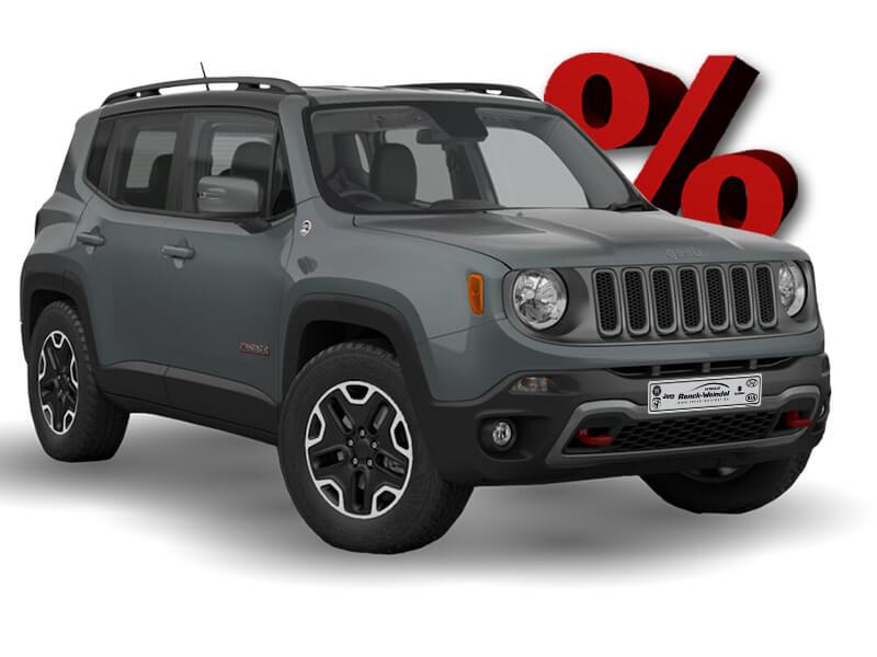 Jeep Renegade Grau