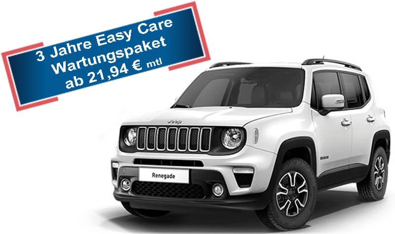 Jeep Renegade weiß